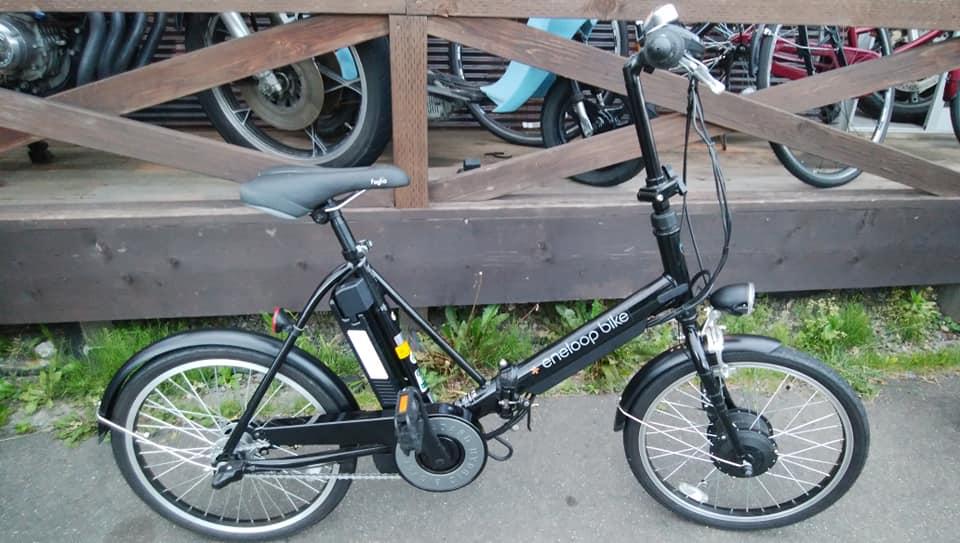 サンヨー 電動ハイブリッド自転車 エネループバイク