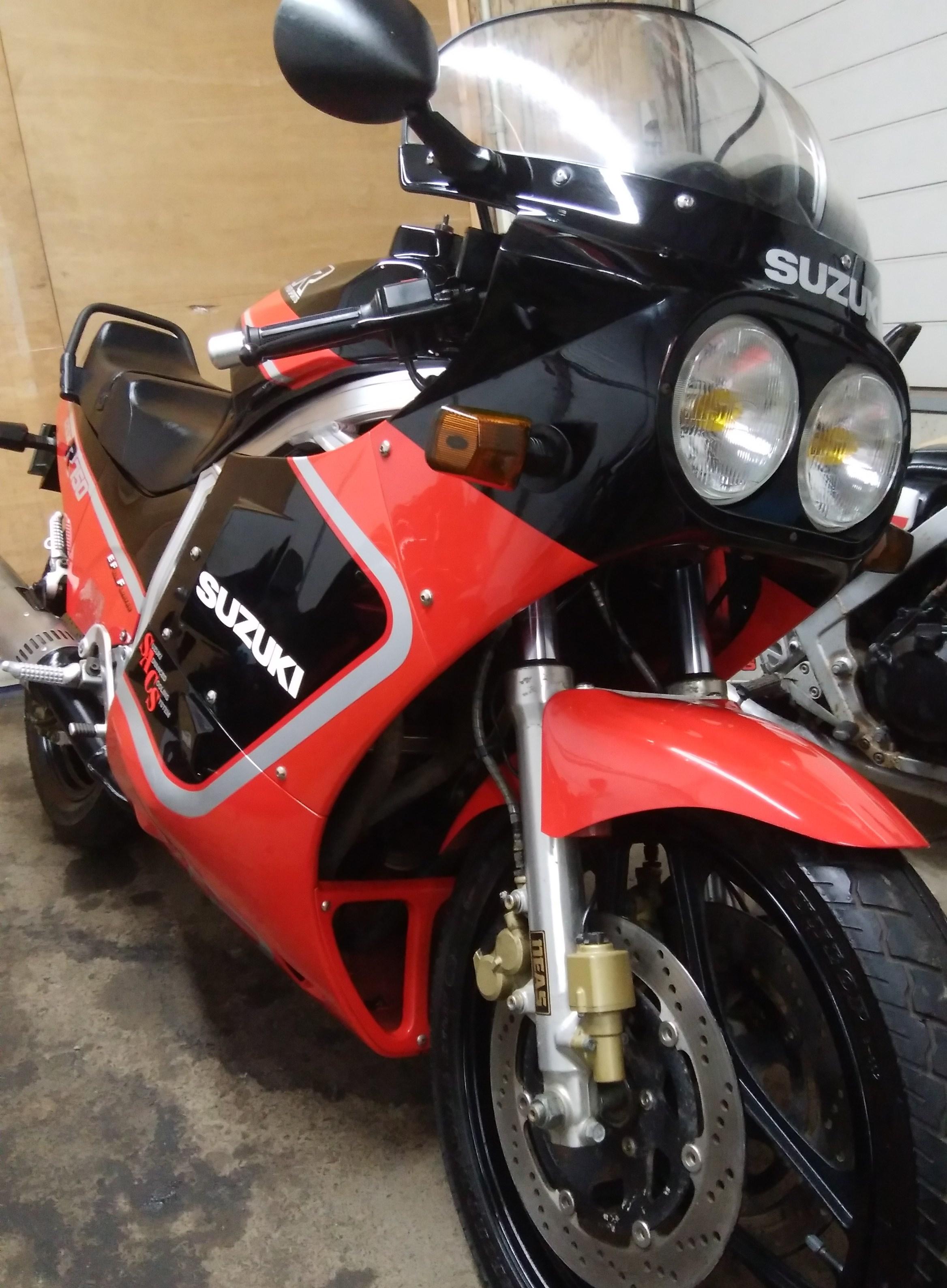 GSX-R750 GR71G 油冷